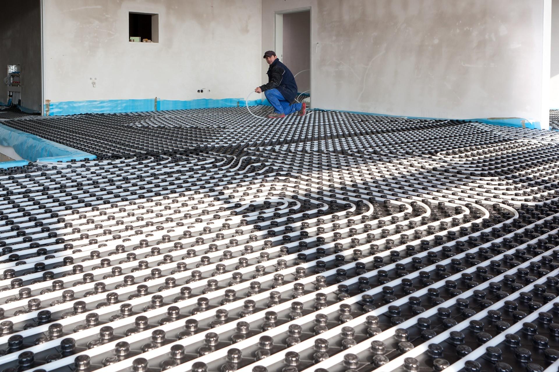 Vloerverwarming Badkamer Nadelen : Vloerverwarming i c m een warmtepomp een efficiënte combinatie